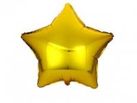 №11092 fed_ Звезда 18 дюймов (45х45см) золото Китай