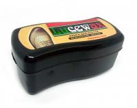 №2074 Luxewax крем-краска для кожи черн. волна 6шт