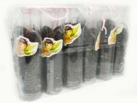 №2749 Резиночки силикон. черные 12колб