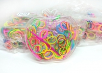 №5376 Резиночки силикон Н-310 яблоко 12шт
