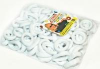 №592 Резинка микрофибра белая 100, диам. 2.5см