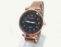 №5979 Часы кварцевые Meibo магн.браслет