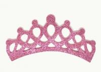 №6196 Заготовка Корона фоамиран розовая