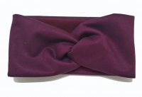 №6236 Повязка замш флис фиолет