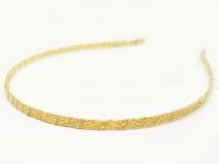 №631 Обруч обмотанный золото